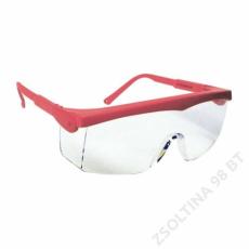 Lux Optical® PIVOLUX piros keret,víztiszta szemüveg
