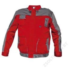 Cerva MAX EVO kabát, piros/szürke