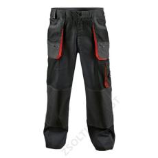 Cerva FF BE-1-003 derekas nadrág, fekete/piros