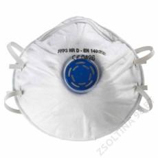 SupAir® SUPAIR FFP3SL NR D szelepes csésze formájú pormaszk