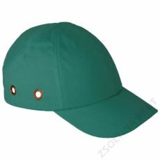 Earline® Fejvédős baseball sapka, zöld