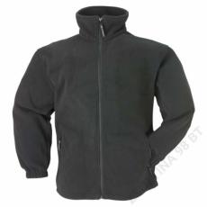 Coverguard Polár pulóver cipzáros fekete -XS