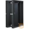 """Lande LN-WM09U6015-AG NETbox 9U 600x150 fali rack szekrény duplán nyíló (alsó rész) 19"""" RAL7035 szürke"""