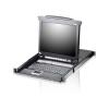 """ATEN KVM Konzol LCD 17"""" + Switch 8PC CL5708M"""