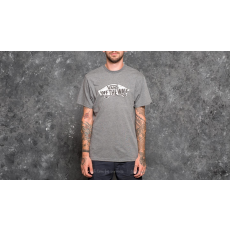 Vans Off The Wall Logo Fill Tee Heather Grey-White Camo