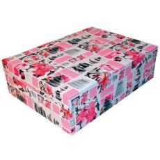 Díszdobozok kövek-pink (T1)