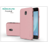Nillkin Samsung J330F Galaxy J3 (2017) hátlap képernyővédő fóliával - Nillkin Frosted Shield - rose gold