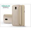Nillkin Samsung J730F Galaxy J7 (2017) oldalra nyíló flipes tok - Nillkin Sparkle - gold