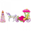 Barbie Dreamtopia - Hintó Pegazussal Barbie babával