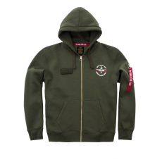 Alpha Indsutries Top Gun Zip Hoody - dark green