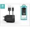 Devia Devia Smart USB hálózati töltő adapter + USB Type-C kábel 1 m-es vezetékkel - Devia Smart USB Fast Charge for Type-C 2.0 - 5V/2,1A - black