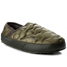 The North Face Zártpapucs THE NORTH FACE - Thermoball Traction Mule IV T9331EZFP Shiny Burnt Olive Green/Black Ink Green