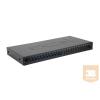 Excel-Networking Optikai patch panel 1U SM LC duplex 24 port, 12 LC duplex toldóval töltve (200-474) EXCEL