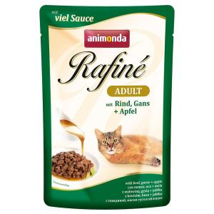 Animonda Rafiné 12x100g Animonda Rafiné nedves macskatáp - Kitten szárnyaskoktél & garnéla (szósz)