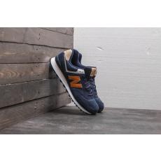 New Balance 574 Blue/ Orange/ White