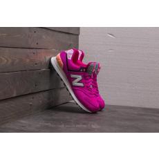 New Balance 574 Violet/ White/ Black
