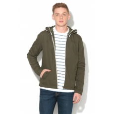 Jack Jones Jack&Jones, Floor Kapucnis Pamutkabát, Fenyőzöld, XXL (12123543-FOREST-NIGHT-XXL)