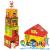 JANOD Multi kocka - Farmos építőjáték -  Janod
