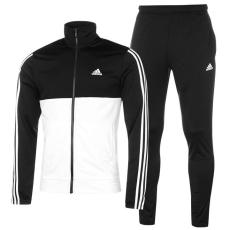 Adidas Back 2 Basics 3 Stripes férfi melegítő szett fekete L