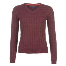 Kangol CableVnk női kötött pulóver bordó S