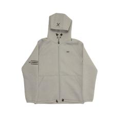 Dorko Mens Hoody Jacket férfi kapucnis cipzáras pulóver szürke XL
