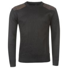 Pierre Cardin Bonded férfi kötött pulóver fekete XL