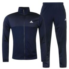 Adidas Basics Poly férfi melegítő szett tengerészkék XL