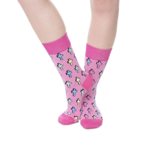 Wilky Cross Pink zokni többszínű