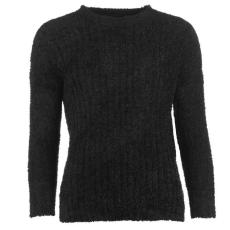Lee Cooper Női kerek nyakú kötött pulóver fekete XS