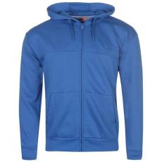 Slazenger Férfi cipzáras kapucnis pulóver kék L