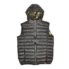 Dorko Snowball Vest Black/camo férfi mellény fekete L