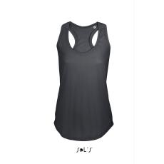 Sol\\\'s Sols Moka női trikó, Dark Grey (Sols női trikó, ívelt aljjal.)