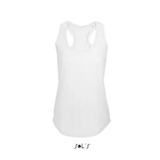 Sol\\\'s Sols Moka női trikó, fehér (Sols női trikó, ívelt aljjal.)