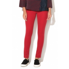 FRENCH CONNECTION , Street Skinny Nadrág, Piros, 14 (74IBO-CRANBERRY-CRUNCH-14)