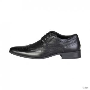 Duca di Morrone férfi alkalami cipő SCOTT_fekete