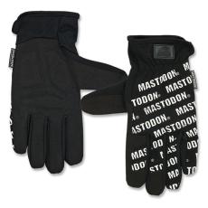 Mastodon 34496 City Utility taktikai kesztyű/Fehér felirat fekete alapon