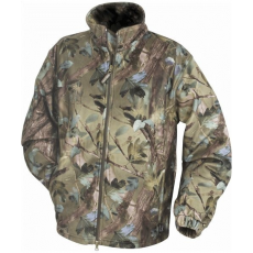 JJKTFL Fleece Jacket vízálló Vadász Dzseki - English Woodland camo/Terepszínű