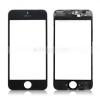 iPhone 5 előlapi üveg kerettel (alkatrész, nem védőüveg) fekete