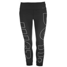 Nike női capri leggings - fekete - Nike Power Graphic Cropped Training Tights Ladies