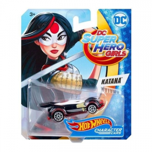 Hot Wheels DC Superhero Girls karakter kisautók