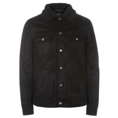 Pierre Cardin Suede férfi kabát fekete XL
