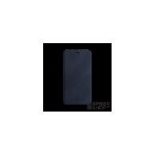 BUGATTI Parigi Apple iPhone X valódi bőr flip tok kártyatartóval, kék tok és táska