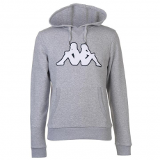 Kappa Fleece LL férfi kapucnis pulóver szürke M