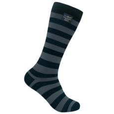 DexShell LONGLITE zokni - Fekete / Szürke