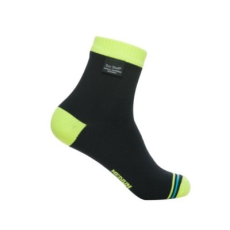 DexShell ULTRALITE biciklis zokni - Fekete / UV Sárga