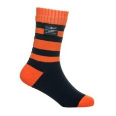 DexShell Gyerek zokni - Narancs / Fekete - L