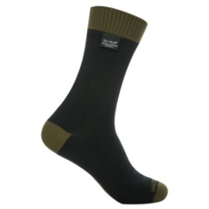 DexShell THERMLITE zokni - Fekete / Olivazöld - M