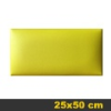 Kerma bőr falpanel, bőrpanel, Arden-111 Sárga (25x50 cm)
