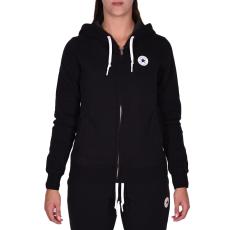 Converse W Core Full Zip Hoodie női cipzáras pulóver fekete L