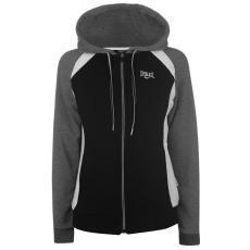 Everlast női cipzáras pulóver - Everlast CS FZ Hoody - fekete/szénszürke